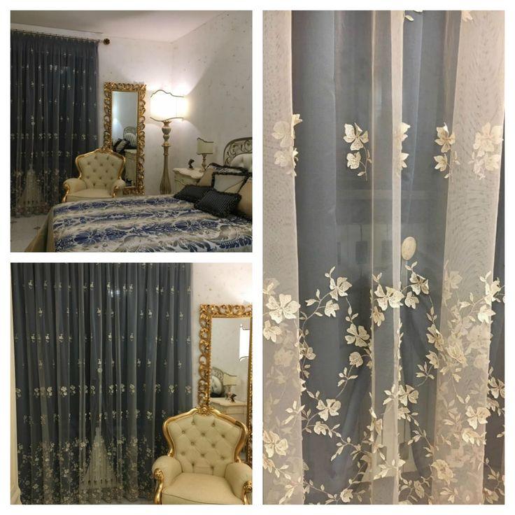 SPAZIO AI VOSTRI PROGETTI! Idee tendaggio realizzate da Decor Maison. Località: Bagno di Gavorrano (GR).  Ci presentano una splendida camera da letto arredata con il nostro tendaggio #Ianella della collezione #TrameDiPuglia  Visita il nostro sito www.ctasrl.com e scarica le nostre brochure su: http://bit.ly/1nhrLQM #tessuti #interiordesign #tendaggi #textile #textiles #fabric #homedecor #homedesign #hometextile #decoration