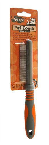 GoGo Pet Products Shedding Pet Grooming Comb, Fine Coat -- Check this useful article by going to the link at the image.