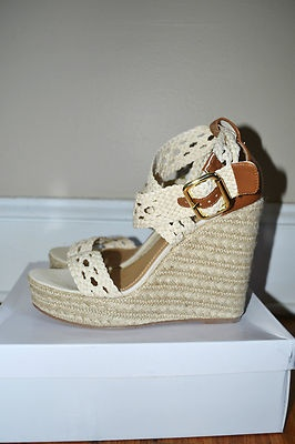 99 CENTS!! That's couch change!! Grab these quick. Wedge ShoesWedge SandalsBeautiful  ShoesSteve MaddenCowWedgesCute ...