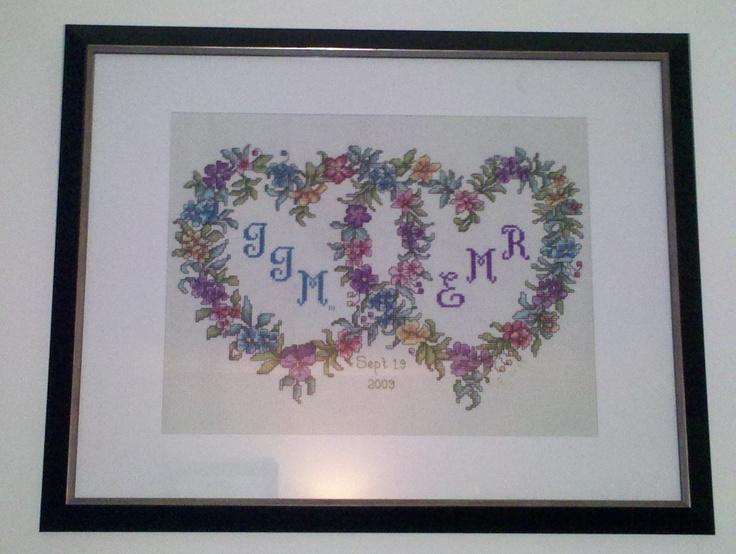 1000 Images About Kruissteek Hart On Pinterest Heart