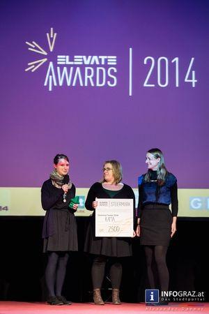 """Fotos: Im Dom im Berg Graz würdigte das Elevate Festival 2014 """"Menschen, Initiativen und Projekte, die sich positiv, nachhaltig und innovativ für die Gesellschaft engagieren"""" und verlieh am 26. Oktober 2014Elevate Awards    """"#Dom im #Berg #Graz"""" """"#Elevate #Festival #2014"""" #positiv #nachhaltig #innovativ #engagieren #Auszeichnungen """"#Nadim #Kobeiss"""" #KAMA #Partycipation """"#Elevate #Awards"""" #Fotos #Bilder #DomimBergGraz #ElevateFestival2014 #NadimKobeiss #ElevateAwards2014"""