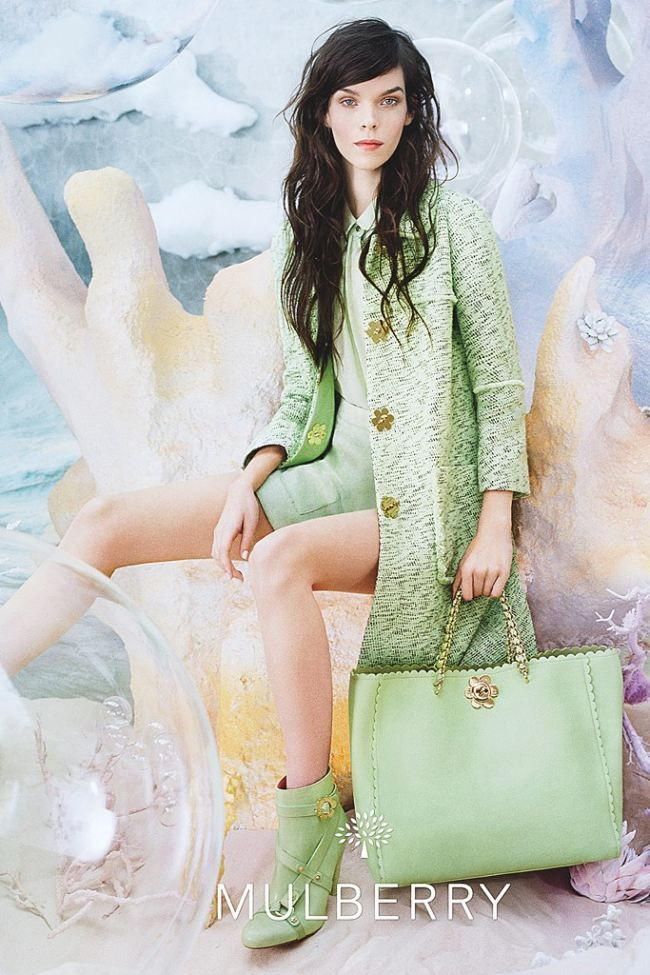 Mulberry goes under the sea for their spring 13 campaign