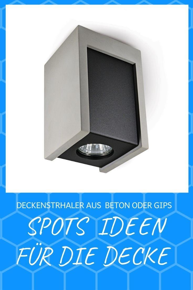 Wandleuchte Beton Diele G9 grau Küche Modern Schlafzimmer