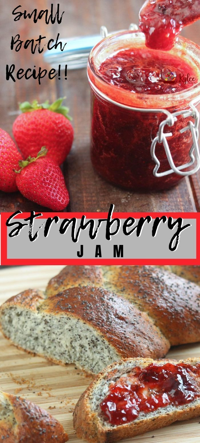 Small batch strawberry jam in under an hour! Make your own jam, and enjoy that h…