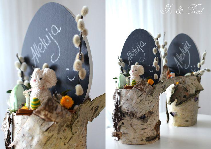 Easter wreath - stroik wielkanocny