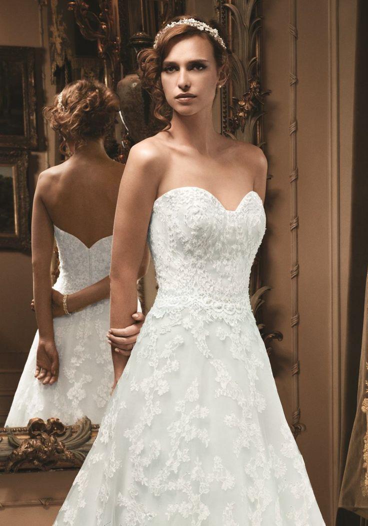 Stunning Chapel Train Sleeveless Sweetheart Lace A line Natural Waist Zipper Wedding Dress