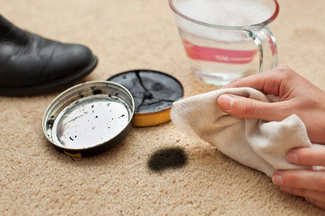 How To Remove Shoe Polish From Carpet Helpful Information Stain