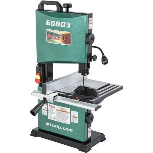 """9"""" Benchtop Bandsaw   Grizzly Industrial   Used ..."""