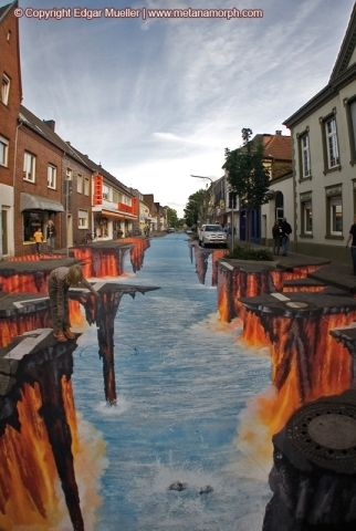 Absolutely Amazing 3D Chalk Art