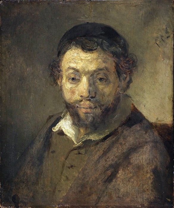 Рембрандт Харменс ван Рейн (1606 Лейден - 1669 Амстердам) (атр) -- Портрет молодого еврея.