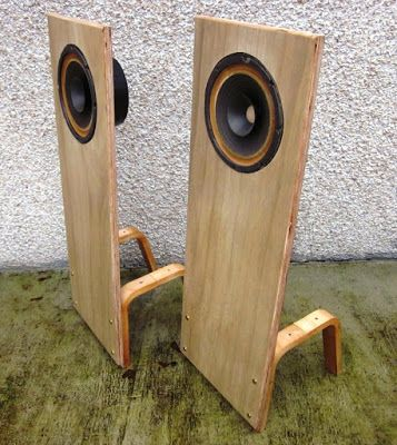 Another idea planted in the depths of November is to start making open baffle speakers using vintage Utah, Realistic, Electro Voice, Knight...