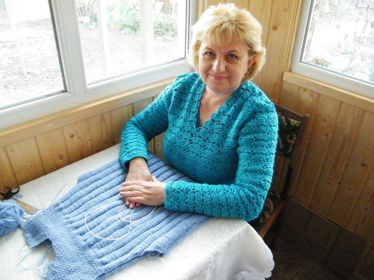 Делюсь простым и легким методом вязания спицами горловины и плеча спинки изделия. Идеально подходит особенно для начинающих. Легко! Быстро! Доступно! Смотрит...