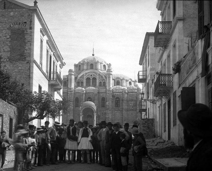 Hubert Marie Vaffier, Ιούνιος 1892, Πάτρα, ναός Παντοκράτορος από τον Νότο.