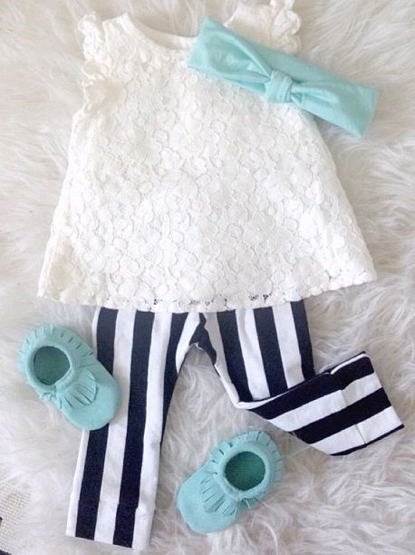 Ok, this has got to be the cutest little girl's outfit!  Love!