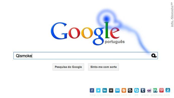 Com a Google é mais fácil encontrar cigarros eletrônicos originais. Qismoke