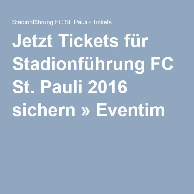 Jetzt Tickets für Stadionführung FC St. Pauli 2016 sichern » Eventim