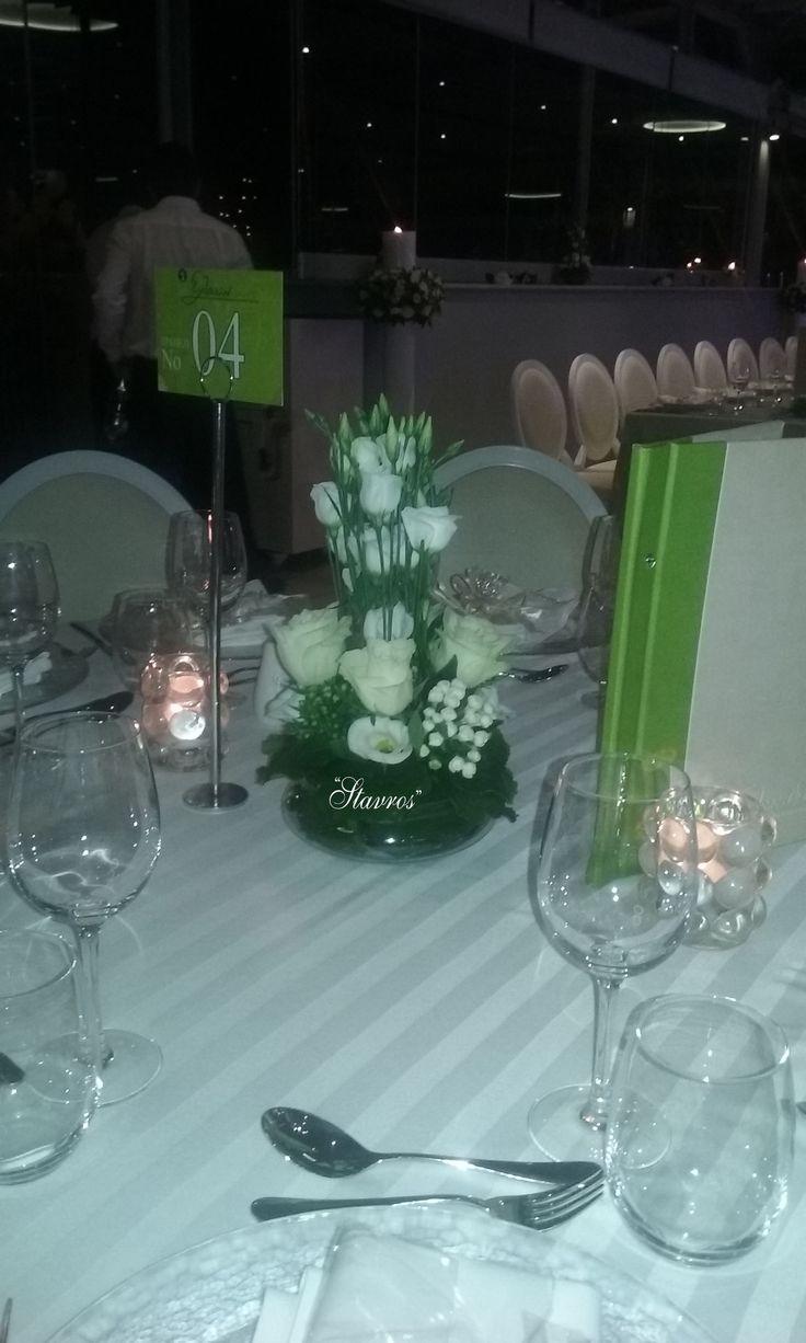 #elegant#flower#arrangment#reception#wedding