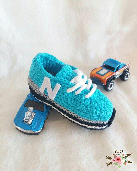 zapatillas new balance en crochet