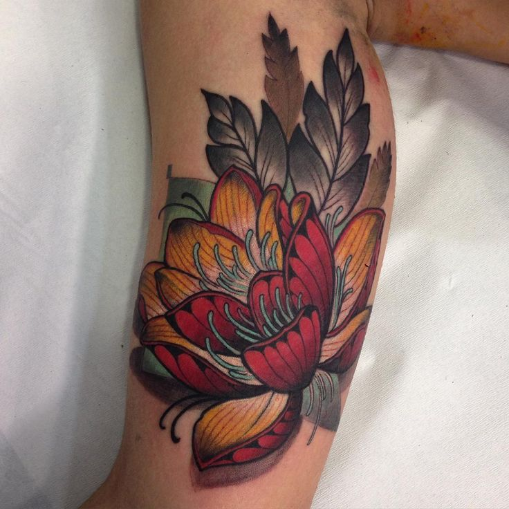 Traditional Flower Tattoos: 163 Best Images About Neo Traditional On Pinterest