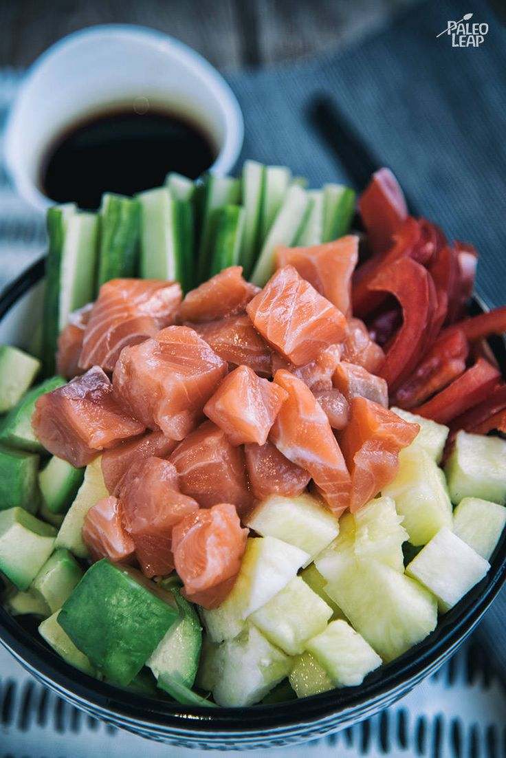 Best 25 salmon poke ideas on pinterest shrimp sushi bowl poke salmon poke bowls with pineapple and avocado ccuart Gallery