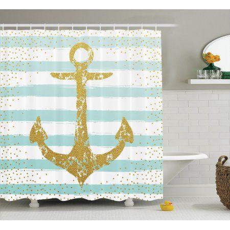 1000 id es sur le th me rideaux de douche de la marine sur for Autocollant mural walmart