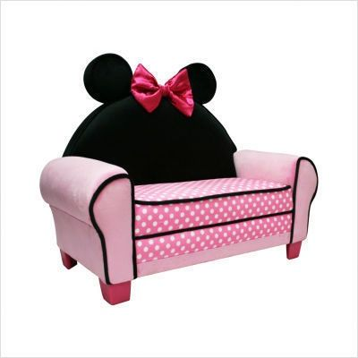 Minnie Mouse Room | Minnie Mouse Toddler Sofa | Minnie Mouse Room