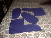 Free pattern - adult polar fleece slippers                              …