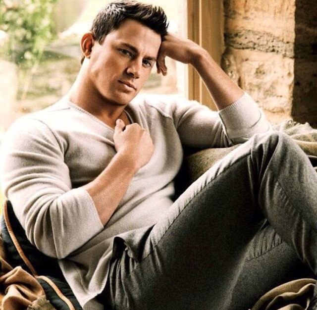 Channing Tatum - this man could make a woman's heart stop, breath cease and body numb from awe with only that glance