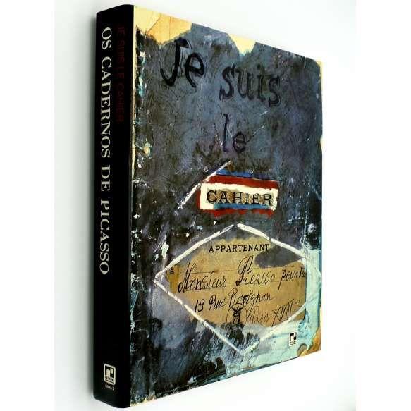 """PICASSO, Pablo - Este livro documenta """"...o desenvolvimento de Picasso através de seus cadernos de desenhos e proporciona uma obra de referência a estudiosos."""". Apresenta seis cadernos completos que datam de 1905 a 1962, seleções de outros cadernos e desenhos - Enigmas para a posteridade, e parte de seu catálogo raisonné. Muito ilustrado. ff<br /> 2400g; 31x24 cm; 350 págs.; sobrecapa acompanha capa dura<br />"""