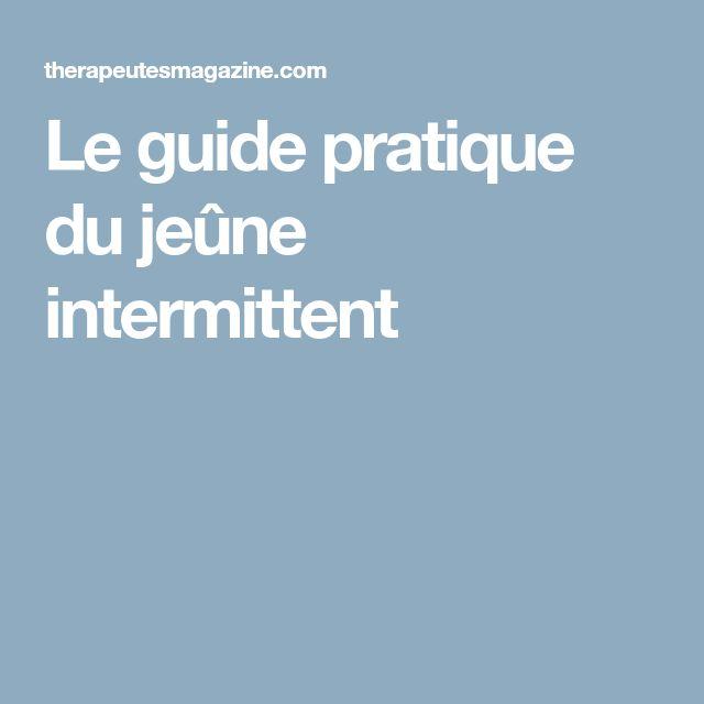 Le guide pratique du jeûne intermittent | Jeuner pour