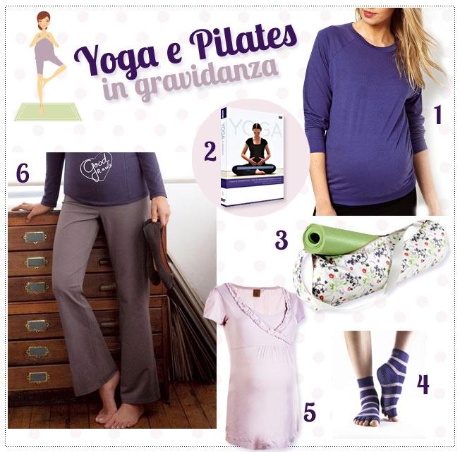 abbigliamento premaman per corsi di yoga e pilates in gravidanza