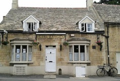 The Railway Inn, Ketton - our local village pub and just around the corner