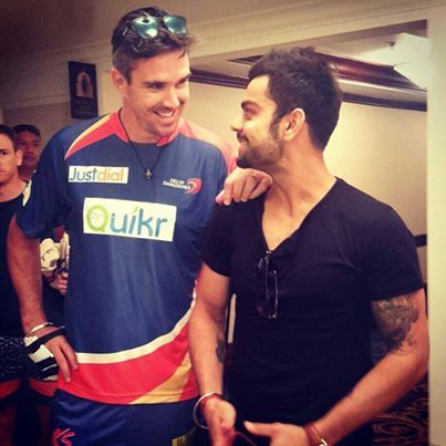 What a player this guy is these days... Love seeing him do well Virat Kohli - Kevin Pietersen