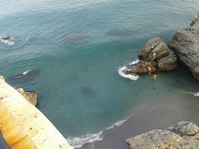 Que bonita la playa :)