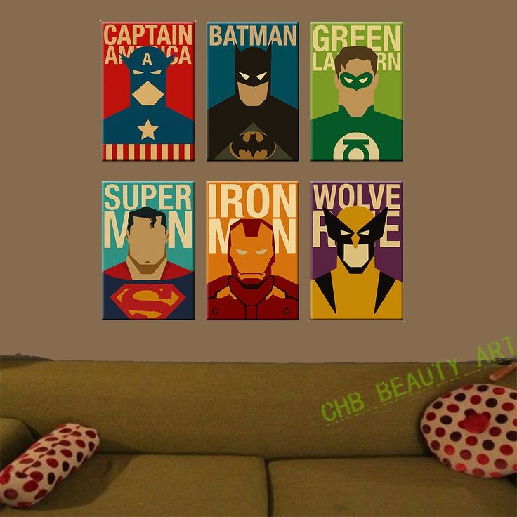 Superhero Bedroom Wallpaper Bedroom Accessories Bedroom Ideas Young Couple Bedroom Furniture Floor Plan: 25+ Best Ideas About Superhero Canvas On Pinterest