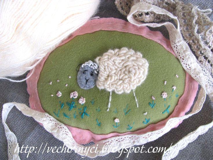 Bullion Stitch Embroidery Animals