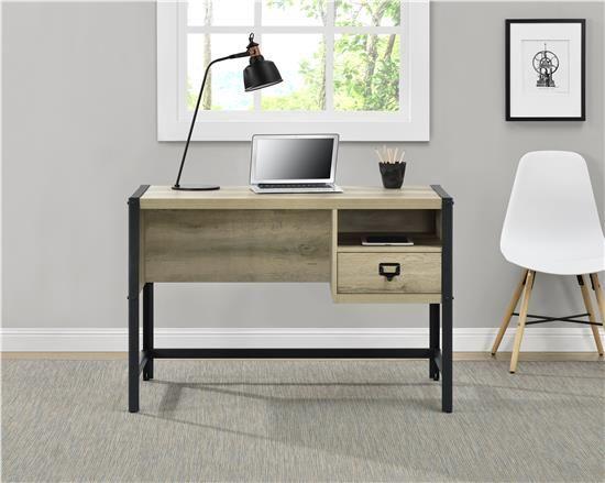 Ameriwood Furniture Basco Computer Desk Natural Furniture Home Office Design Desk