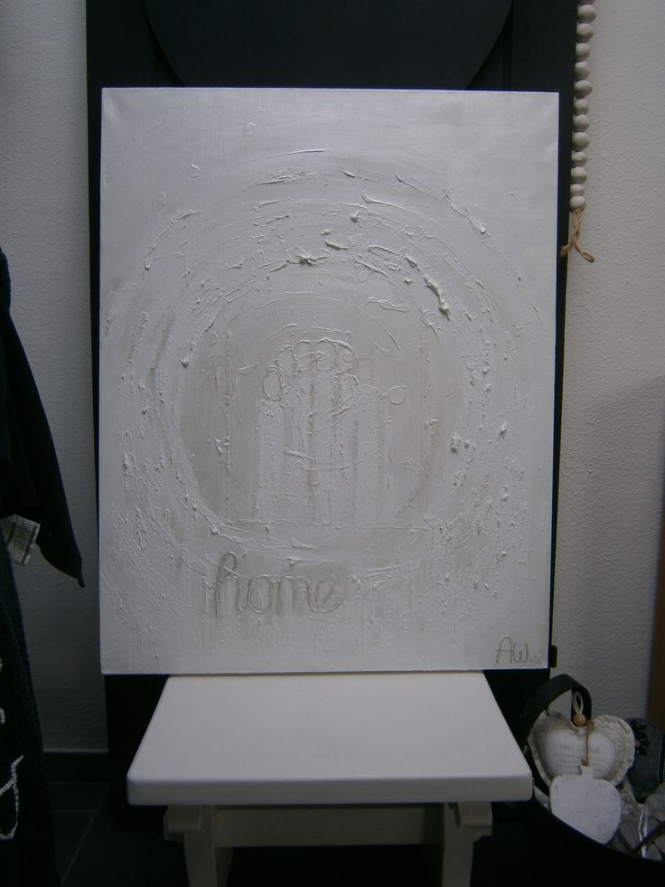 White Painting ..Home made ....