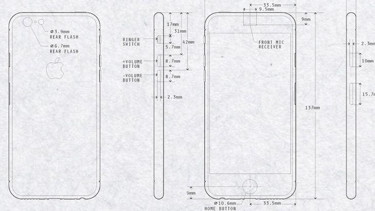 KONSTRUKTIONS-SKIZZEN AUFGETAUCHT! Sehen wir hier das neue iPhone 6?