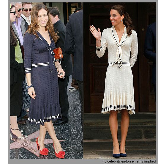 Kate Middleton Style Cream Sarah Burton Dress