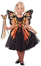 Deanna: Crimson Frye is wearing the costume created by her mother, Deanna Frye. The butterfly wings were made by cutting two identical wings from heavy posterboard, then painted black. Iridescent fabric...