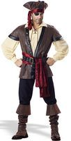 Rustic Pirate Male Adult Costume