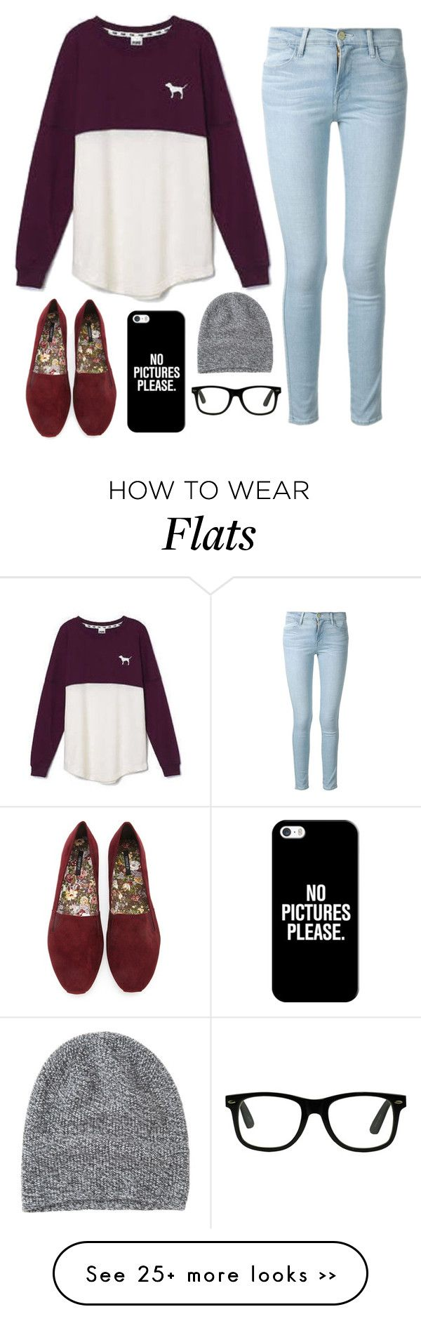 """...."" by pineapple5415 on Polyvore featuring Frame Denim, Victoria's Secret, Forever 21, Casetify and Toast"