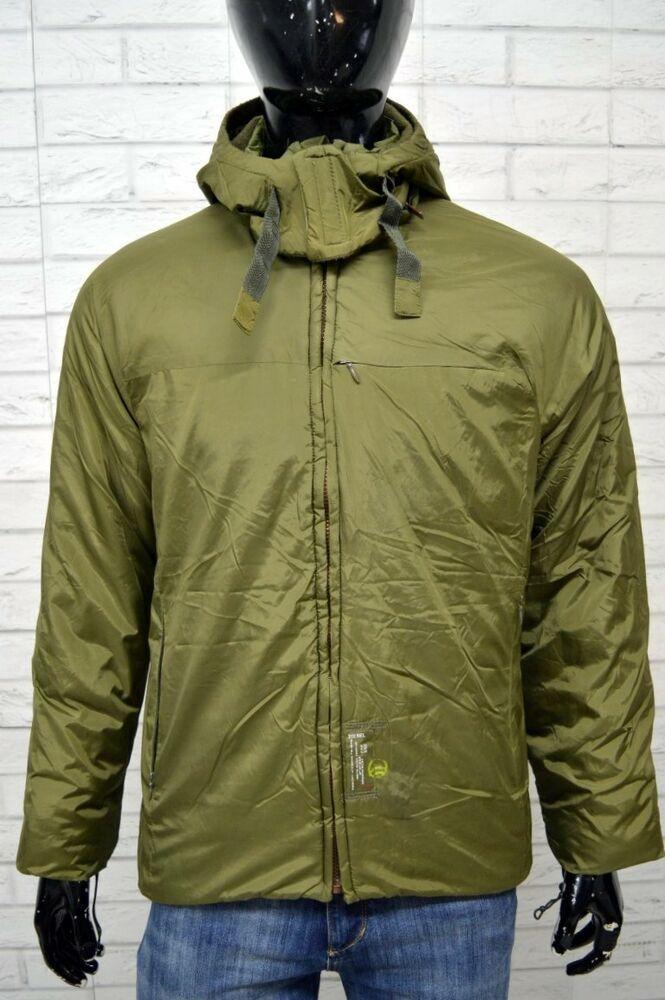 67978c1cc6 Dettagli su Giubbotto DIESEL Uomo Taglia Size S Jacket Man Cappotto ...