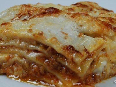 Lasagna alla bolognese - YouTube