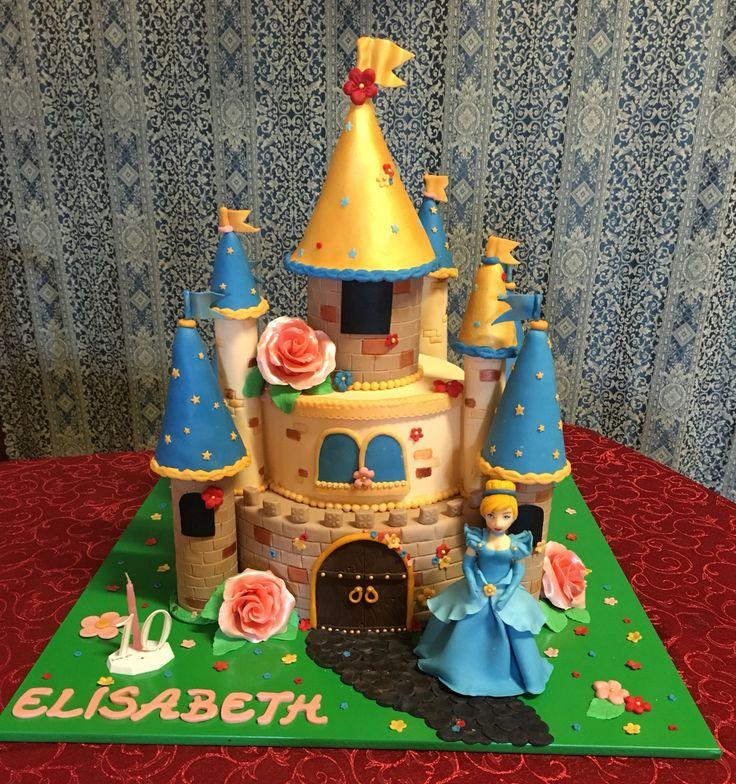 Torta castello Cenerentola  #Disney