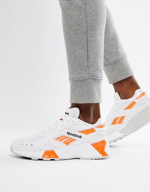 newest collection f948f 9af43 Reebok Aztrek 90s Sneakers In White CN7472