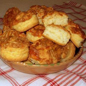 Villámgyors sajtos-tejfölös pogácsa Recept képpel - Mindmegette.hu - Receptek