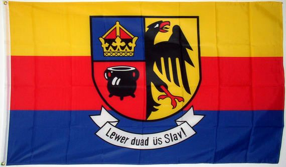 "North Frisia, Germany Flag, ""Better dead than a slave"""