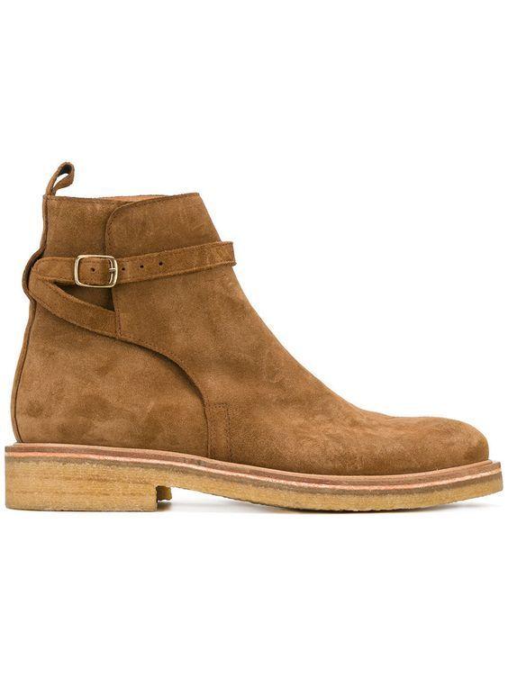 Handmade Men beige Suede jodhpurs, Me ankle boots, Men jodhpurs boots - Boots